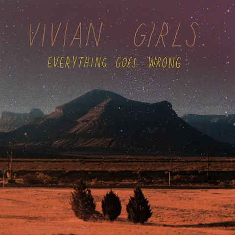 vivian-girls-everything-goes-wrong-album-art